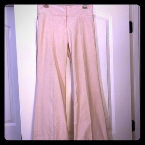 Alluring blush colored Vintage bell bottom pants
